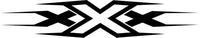 xXx Decal / Sticker 02
