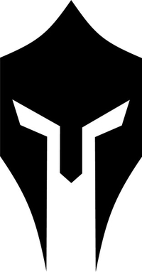 Spartan Helmet / Mask Decal / Sticker 13