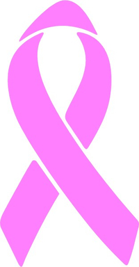 Breast Cancer Ribbon Decal / Sticker