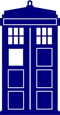 Doctor Who Tardis Decal / Sticker 01