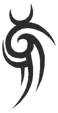Tribal Decal / Sticker 51