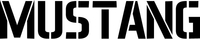 Mustang Decal / Sticker 01