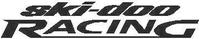 Ski-Doo Racing Decal / Sticker 04