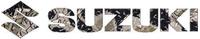 Camouflage Suzuki Decal / Sticker