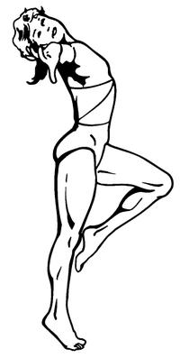 Gymnast Decal / Sticker