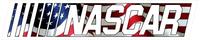 American Flag Nascar Decal / Sticker contour
