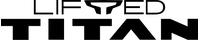Nissan Lifted Titan Decal / Sticker 05