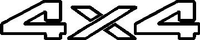 Z 4X4 Decal / Sticker 15