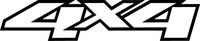 Z 4x4 Decal / Sticker 27
