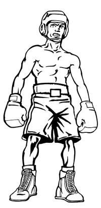 Boxer Decal / Sticker