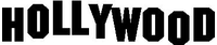 HOLLYWOOD Lettering Decal / Sticker