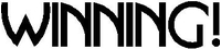 Winning! Charlie Sheen Decal / Sticker