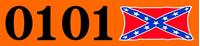 Dukes of Hazzard Helmets Decal / Stickers 07