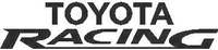 Toyota Racing Decal / Sticker 04