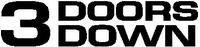 3 Doors Down Decal / Sticker