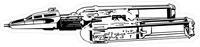 Y-Wing Starfighter Decal / Sticker 01