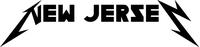 New Jersey Metallica Decal / Sticker 08