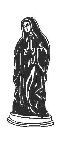 Virgin Mary Decal / Sticker