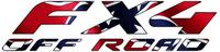 Z Confederate - Rebel Flag FX4 Off-Road Decal / Sticker 14