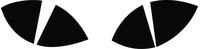 Eyes Decal / Sticker 05