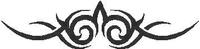 Tribal Decal / Sticker 57
