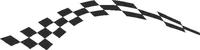 Checkered Flag Decal / Sticker 33