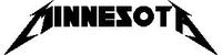 Minnesota Metallica Decal / Sticker 01