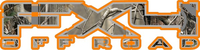 Z Camo FX4 Off-Road Decal / Sticker 06