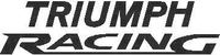 Triumph Racing Decal / Sticker 01