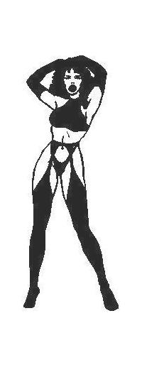 Sexy Girl Decal / Sticker 06