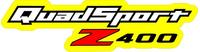 Quadsport Z400 Decal / Sticker