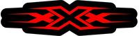 xXx Decal / Sticker 03