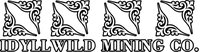 Idyllwild Mining Co. Decal / Sticker 01