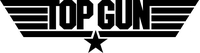 Top Gun Decal / Sticker 04
