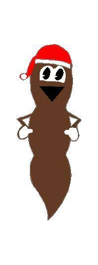 Mr. Hanky the Christmas Poo Decal / Sticker