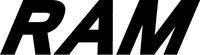 Ram Lettering Decal / Sticker 02