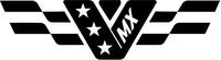 MX Flag Decal / Sticker 02