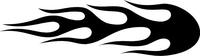 Flames Decal / Sticker 72