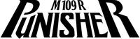 The Punisher M109R Lettering Decal / Sticker 40