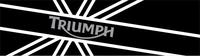 Triumph British Flag Decal / Sticker 59