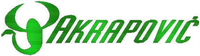 Green Carbon Fiber Akrapovic Decal / Sticker