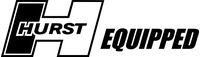 Hurst Equipped Decal / Sticker 04