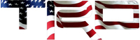American Flag Toyota TRD Decal / Sticker 09