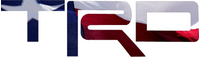 Texas Flag Toyota TRD Decal / Sticker 11
