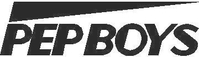 Pep Boys Decal / Sticker