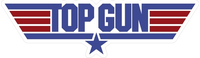 Top Gun Decal / Sticker 02