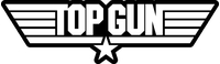 Top Gun Decal / Sticker 03