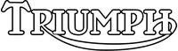 Triumph Decal / Sticker 49