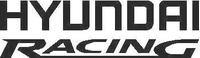 Hyundai Racing Decal / Sticker 04