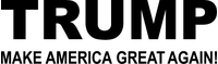 TRUMP Decal / Sticker 03